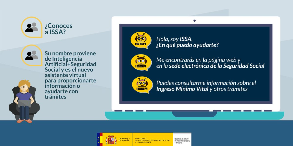 ISSA: El asistente virtual para trámites y consultas de la Seguridad Social